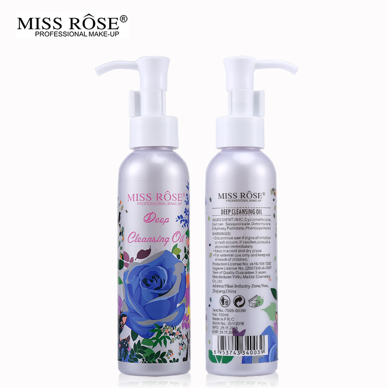 Miss-Rose-Makeup-Remover-Cosmetics-Face-Cleansing-Oil-150ML-Liquid-Deep-Cleansing-Lotion-Shrink-Pores-Lip