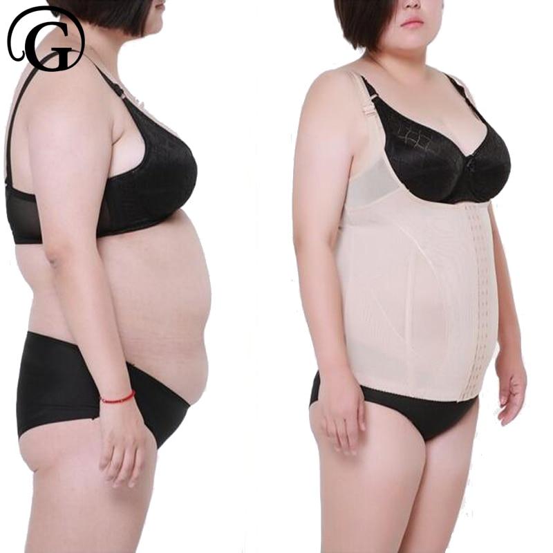 PRAYGER Women Slim Shapewear Corset Bustiers Body Shaper push up bra Vest Tank Top Underwear Hook Waist Tummy Control Underbust
