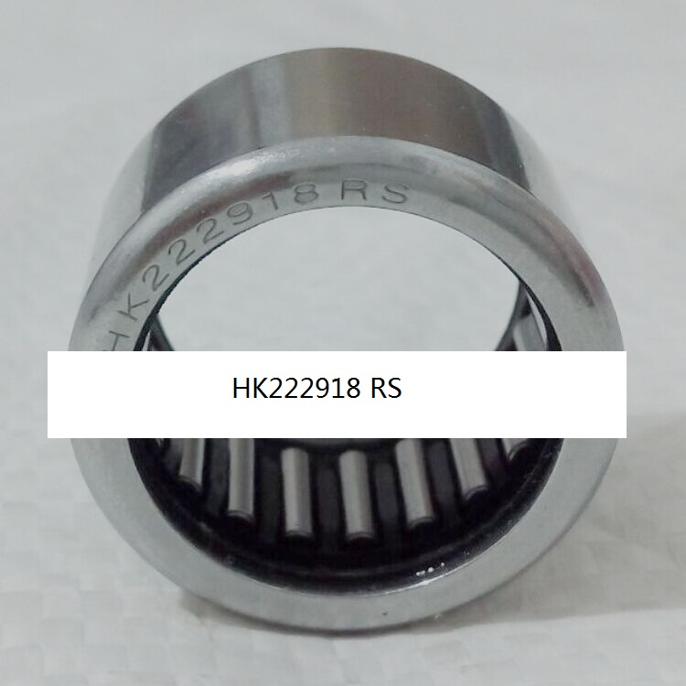 HK222918 RS HK222918rs Drawn cup caged Needle roller bearings open end ,wtih seal the size of 22 *29*18mm CN250 CF Moto bk3038 needle bearings 30 37 38 mm 1 pc drawn cup needle roller bearing bk303738 caged closed one end