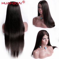 Brazilian Wig Full End Lace Front Human Hair Wigs Pre Plucked Straight Lace Front Wig Remy Lace Frontal Natural Hair 8 to30 Inch