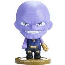 Disney Marvel Avengers Iron Man Hulk Thanos Doctor Strange 6 style Q Version Action Figure Anime Collection Figurine Toy model