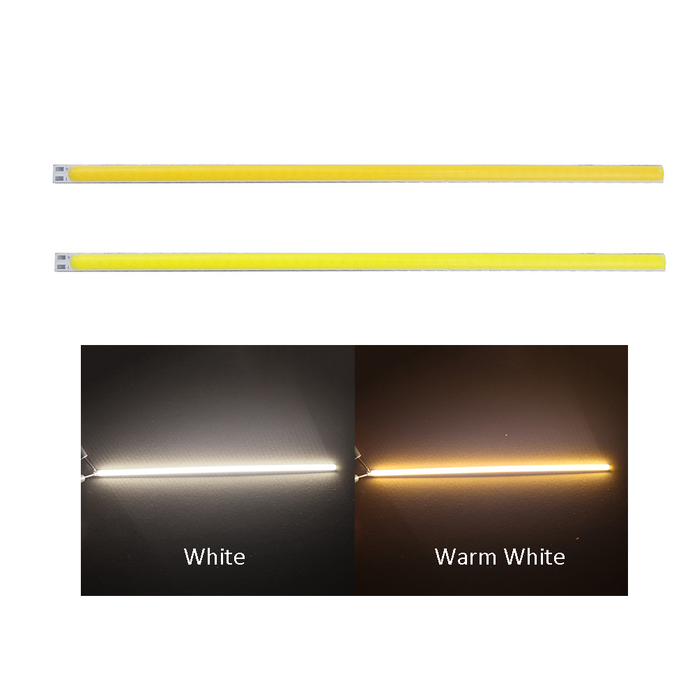 5pcs 12V 8W COB LED Light 200*6mm Highlight Bulbs super Bright DIY LED COB Lamps Strip Light for car working Decration DA