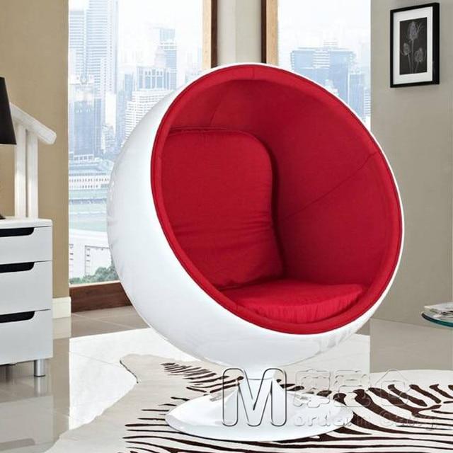 Ball Chair Aarnio Ball Chair Swivel Chair Club Furniture Sofas Circular  Space Enclosed Chair