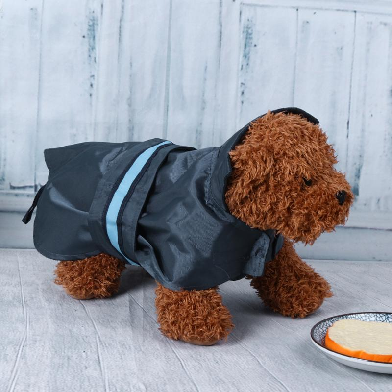 Pet Dog Clothes Waterproof Nylon Coat with LED Luminous Strip Pet Night Outdoor Playing Safty Clothes Pet Winter Windcoat
