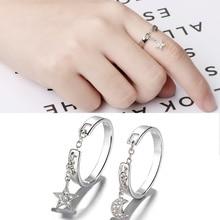 2019 New Best Friends Gift Satr Moon Chain Ring Women Geometry Tassel Index Finger Ring vintage cross decorated index finger women men s ring