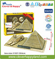 2014 new clever&happy land 3d puzzle  model Sphinx And Pyramid adult puzzle for boy paper