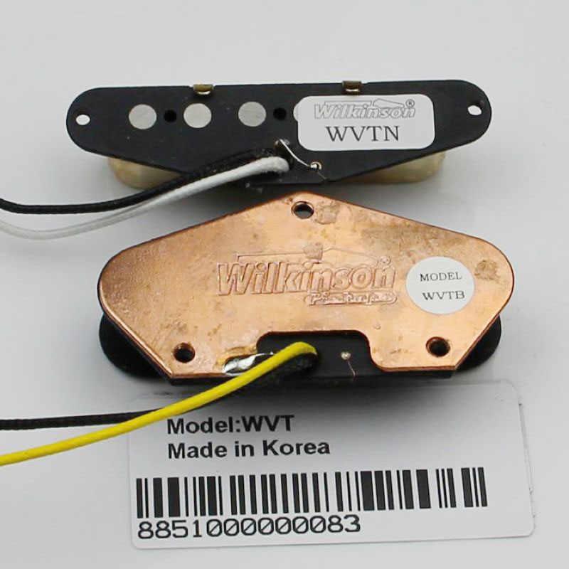 TL Wilkinson elektrikli gitar manyetikleri WVT boyun ve köprü manyetikler Altın