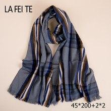 Algodón largo mujer hombre bufanda Foulard Femme diseñador lujo lana de  Cachemira de seda cuello señoras viscosa bufanda masculi. 29e78a618a4