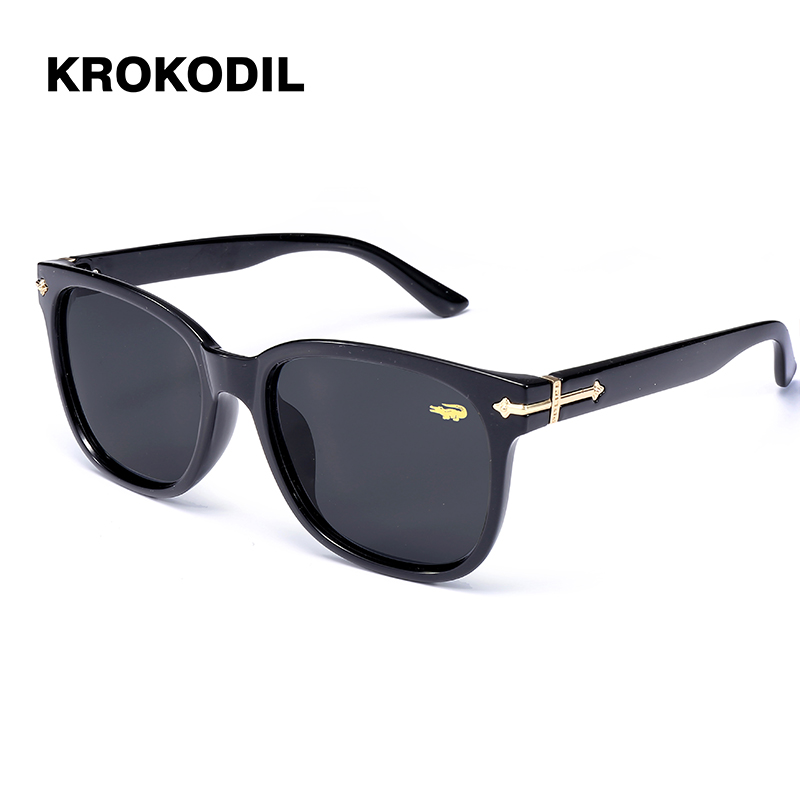 59c5a85c7c15 Krokodil Sunglasses Women Polarized Female Sun Glasses Vintage Oversized  Sunglasses Shades Driving Glasses With Case 2936-in Sunglasses from Women s  ...