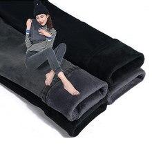 Skinny Hoge Taille Jeans Vrouwen Plus Fluwelen Dikker Warme Broek Denim Jeans Broek Slanke Vintage Plus Size Potlood Broek Jeans q738