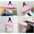 Kitchen Trash Rack Cow Style Mini Suction-cup Trash Rack Office Family Kitchen Toilet Plastic Hanging Portable Trash Rack