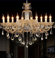 Milk White Modern Crystal Chandelier Roman Antique Crystal Chandeliers Vintage Candle Chandelier Living Room Bedroom Chandeliers