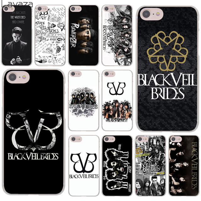 online store c8a95 7dbb4 US $2.55 |Lavaza Black Veil Brides BVB Hard Cover Case for iPhone X XS Max  XR 6 6S 7 8 Plus 5 5S SE 5C 4S 10 Phone Cases 7Plus 8Plus-in Half-wrapped  ...
