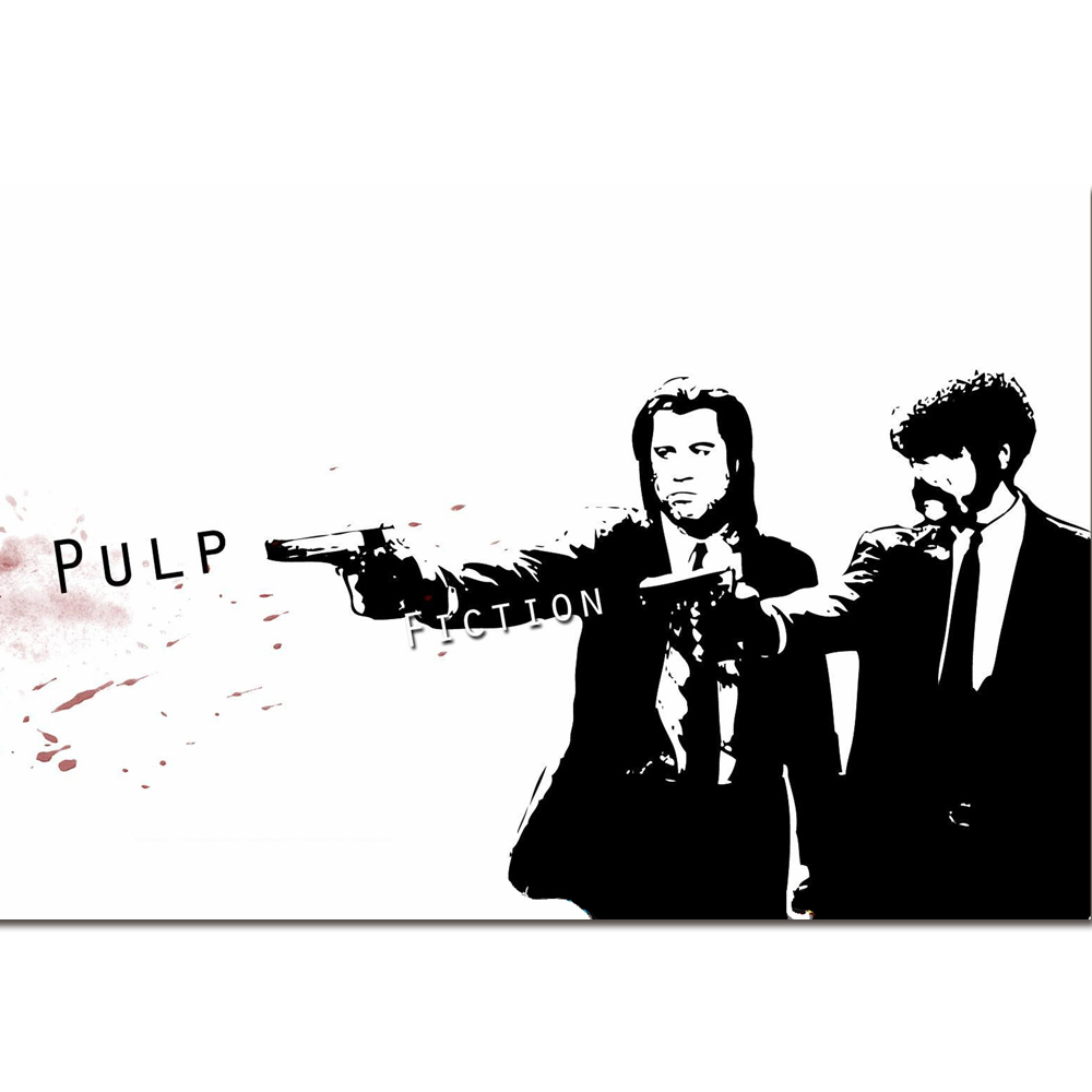 PULP FICTION MOVIE Art Poster 12x18 24x36