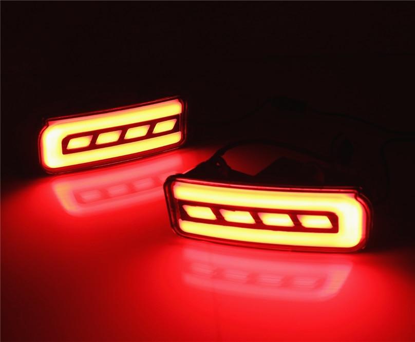car flashing  set  honda cr  crv   led drl rear bumper lights tail light fog lamp