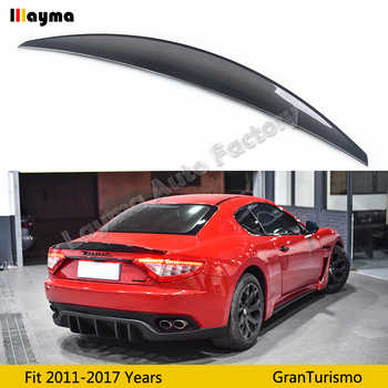 Nov style Carbon fiber rear trunk spoiler For Maserati Gran Turismo 4.2T Coupe 2011-2017 year GT car spoiler wing - DISCOUNT ITEM  0% OFF All Category