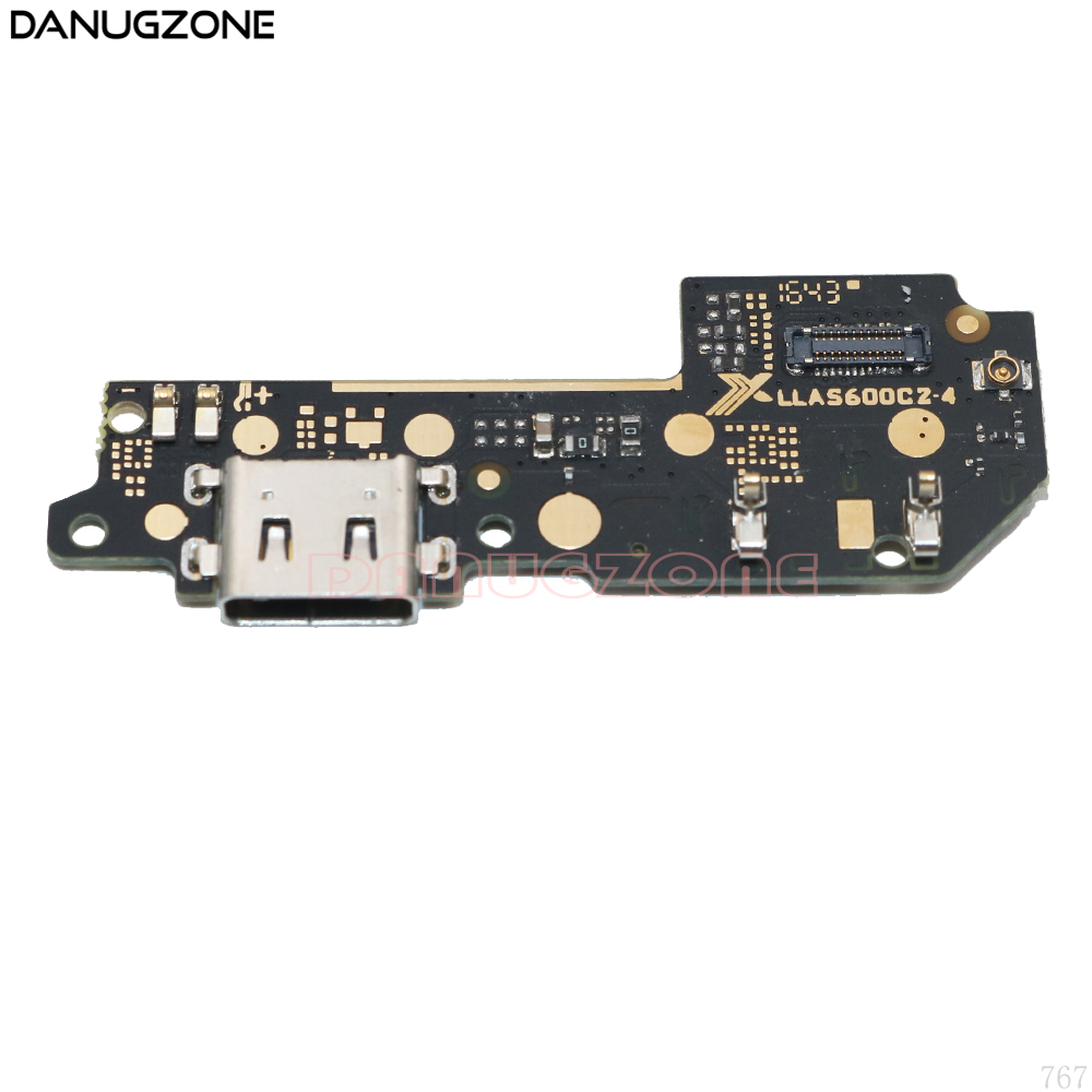 For Motorola MOTO M XT1662 XT1663 USB Charging Port Dock Plug Jack Connector Charge Board Flex Cable With Microphone