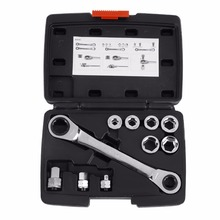 15 in 1  Socket Wrench Set Universal Key Ratchet Wrench Tools