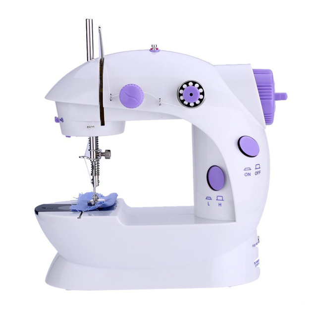 Aliexpress Buy Mini Handheld Sewing Machines Dual Speed Double Best Buy Sewing Machine Uk