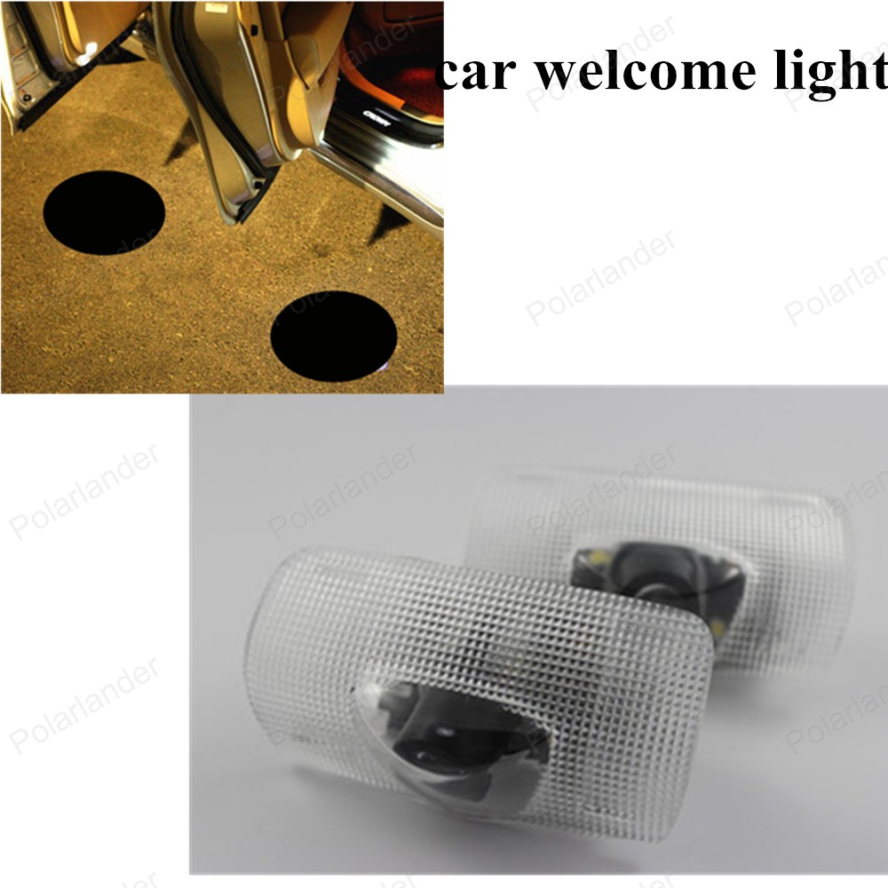 Welcome Light 2PCS/lot Led Auto Logo Emblem Laser Lamp LED Car Door Step Ghost Shadow Projector Lamp For Toyota For Crown SALE 2x led car door welcome light for toyota corolla emblem logo projector lamp for toyota corolla spoiler estate levin coupe saloon