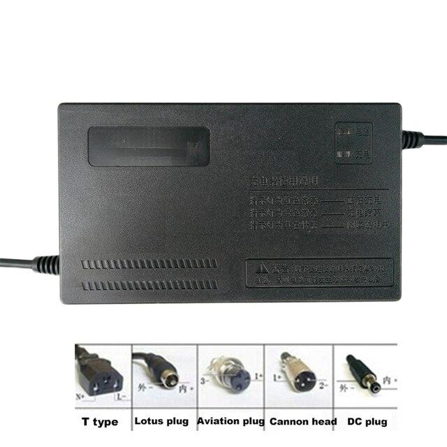 36 V 1.8A 2A 3A 5A ebike Li Ion Lipo Lifepo4 Batteria Al Litio Caricabatterie Li ion 42 V 43.8 V BMS ricarica rapida per la Bici Elettrica Del Motore