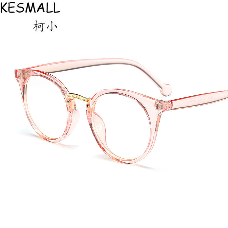 KESMALL Sunglasses Women Fashion Google Sun Glasses UV400 Clear Lens Eyeglasses Frame Oculos De Sol Brand Design Eyewear YJ1015