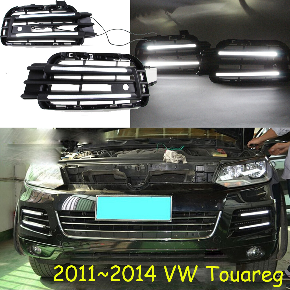 2011~2014 Touareg daytime light,Free ship!sharan,Golf7,routan,saveiro,polo,passat,magotan,jetta,Touareg fog light tiguan taillight 2017 2018year led free ship ouareg sharan golf7 routan saveiro polo passat magotan jetta vento tiguan rear lamp