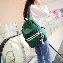 2018 new Japanese Harajuku solid color ulzzang backbag wild brush Street student bag streamer  female backpack
