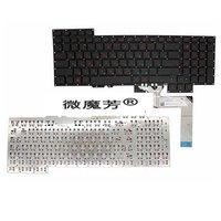 Russian NEW Keyboard For Asus G751 G751JM G751JT G751JY 0KNB0 E601RU00 ASM14C33SUJ442 RU Laptop Keyboard