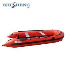 PVC Inflatable Rubber Motor Professional Fishing Boat from China to sales