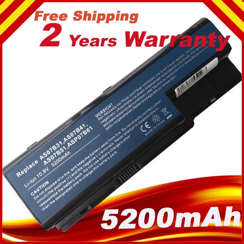 Battery for ACER Aspire 5520 5720 5920 6920 6920G 7520 7720 7720G 7720Z Series Battery AS07B31 AS07B41 AS07B42 AS07B72 Battery for acer 7220 7520 5315 5720 7720 5520 5310 laptop cpu fan