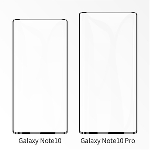 Image 4 - 10PCS/Lot 3D Curved Glass For Samsung Galaxy Note 10 5G Full Cover 9H Protective film Screen Protector For Samsung Note 10 Pro