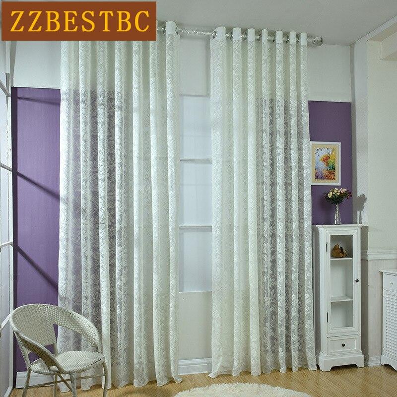 Mətbəx Deluxe Avropa Voile Pərdəsi üçün krujeva jakarlı ekran - Ev tekstil - Fotoqrafiya 1
