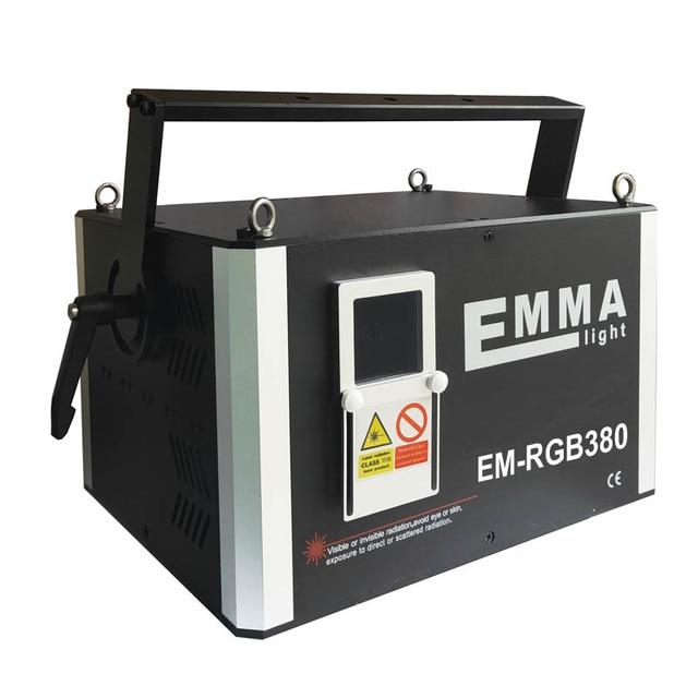 מקצועי ILDA DMX 8000-10000 mw לייזר אור 10 ואט RGB צבע מלא אנימציה דיסקו Dj מועדון לייזר להראות מערכת 40 K
