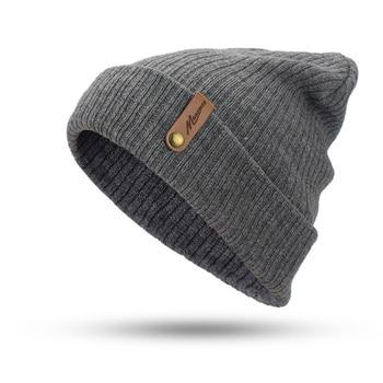 New Fashion Women Men Winter Hat Knitted Skuilles Beanies For Women Hats Balaclava Unisex Winter Cap Men Brand Hat Wholesale