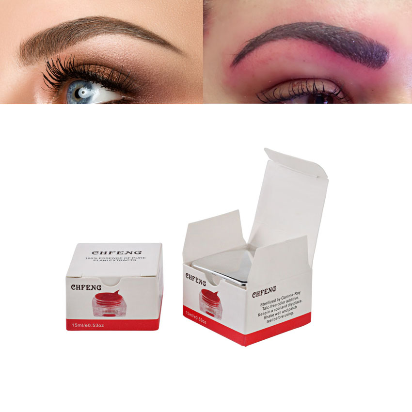PCD Microblading Pigment Permanent Makeup Eyebrow Tattoo Inks Makeup Beauty Tool 1Pcs Tattoo 3D Embroidery Makeup Tattoo Supply hot sale mirco permanent makeup tattoo inks pigment for eyebrow makeup 10 colors free shipping goochie quality