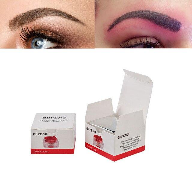 PCD Microblading Pigment Permanent Makeup Eyebrow Tattoo Inks Makeup Beauty Tool 1Pcs Tattoo 3D Embroidery Makeup Tattoo Supply