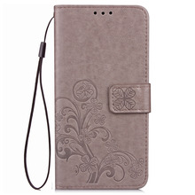 Huawei P8 lite Case PU Leather Wallet Case With hand rope Silicon Back Cover Case For Huawei P8 lite mini P8lite Huawei ALE-L21