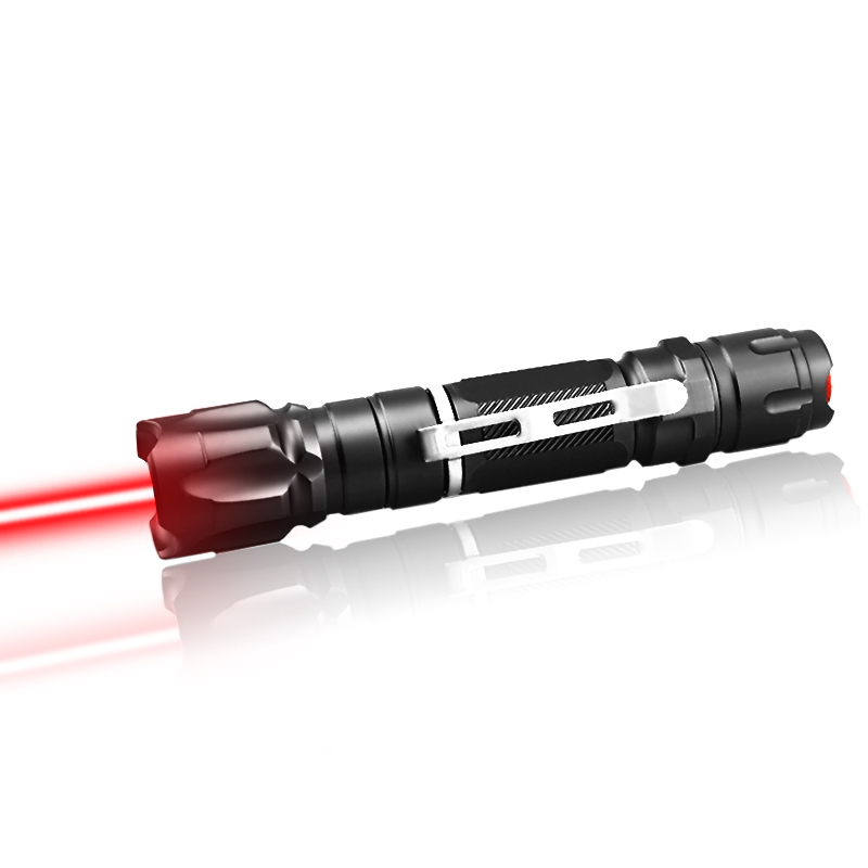 CWLASER 50000m High Power 638nm Focusable Waterproof (IPX-8) Red Laser Pointer Burning Laser (2 Colors)