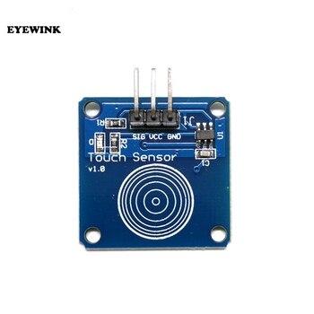 1 unids/lote TTP223B 1 canal Jog sensor táctil digital capacitivo Interruptor táctil módulos accesorios para arduino