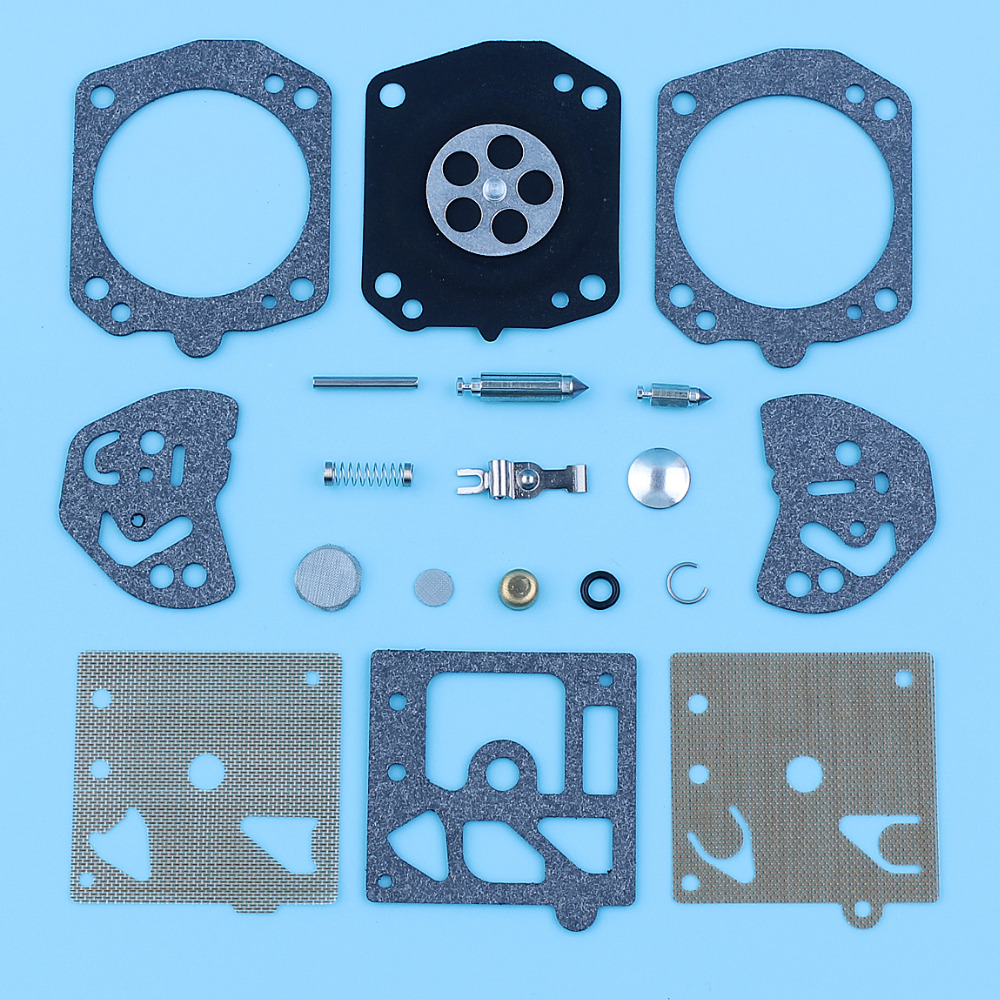 Carburetor Diaphragm Repair Rebuild Kit For Husqvarna 257 250R Poulan 2800 3300 Homelite 300 Echo CS510 CS550 Walbro K20-HDA