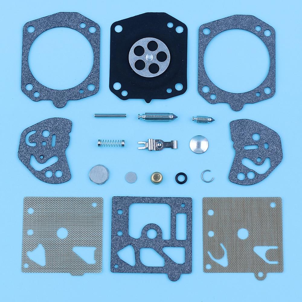 Carburetor Diaphragm Repair Rebuild Kit For Husqvarna 257 250R Poulan 2800 3300 Homelite 300 Echo CS510 CS550 Walbro K20-HDA