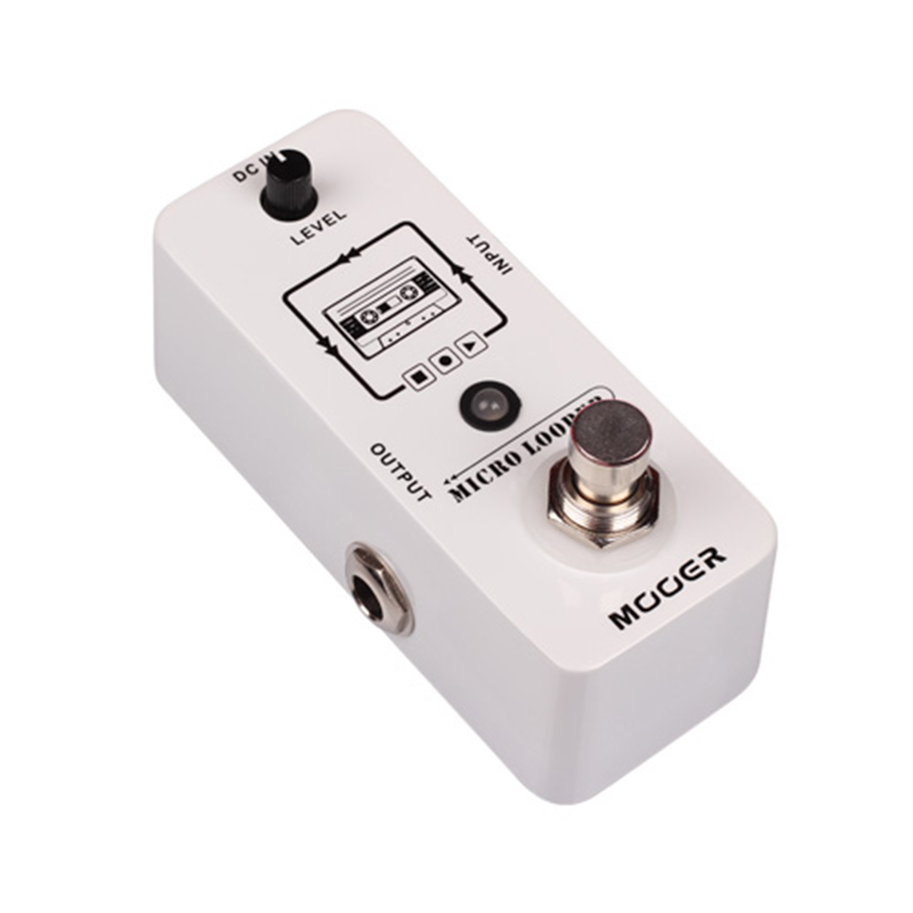 Mooer Micro Looper Guitar Effect Pedal True bypass Micro Mini Looper Loop Recording Effect Pedal MLP1 loop effect pedal 3 way looper switcher guitar effect pedal true bypass electric guitar parts accessories