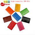 double Hasp Fashion Business Credit Card Holder Bags Leather Bank Card Bag 108 Cards Case ID Holders Card Keepers