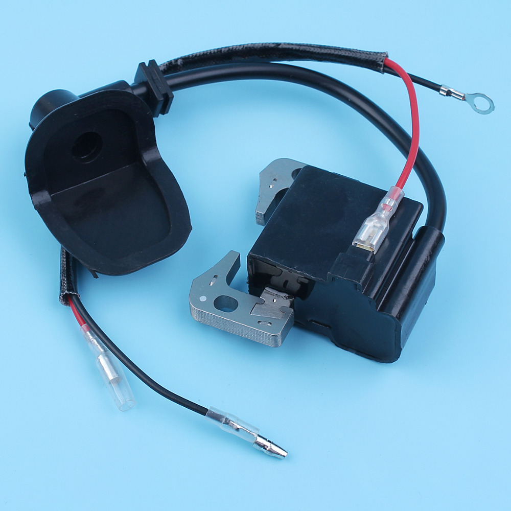 hight resolution of ignition coil magneto module w wire for subaru robin nb411 ec04 bg411 cg411 47cc 49cc brushcutter grass trimmer 541 70230 20 in chainsaws from tools on