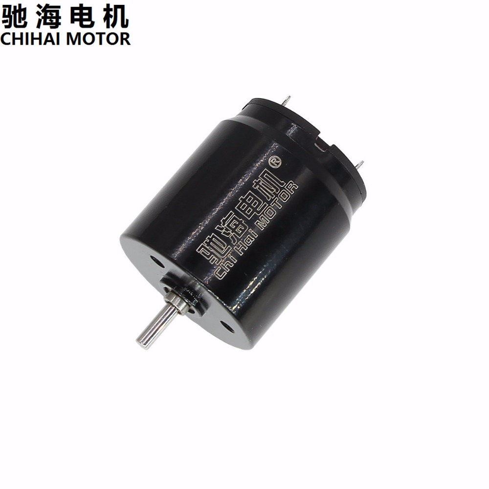 ChiHai Motor Diameter 22mm CHH-2225CU Hollow Cup DC High Speed NdFeB Magnetoelectric Motor 12v 6v цена