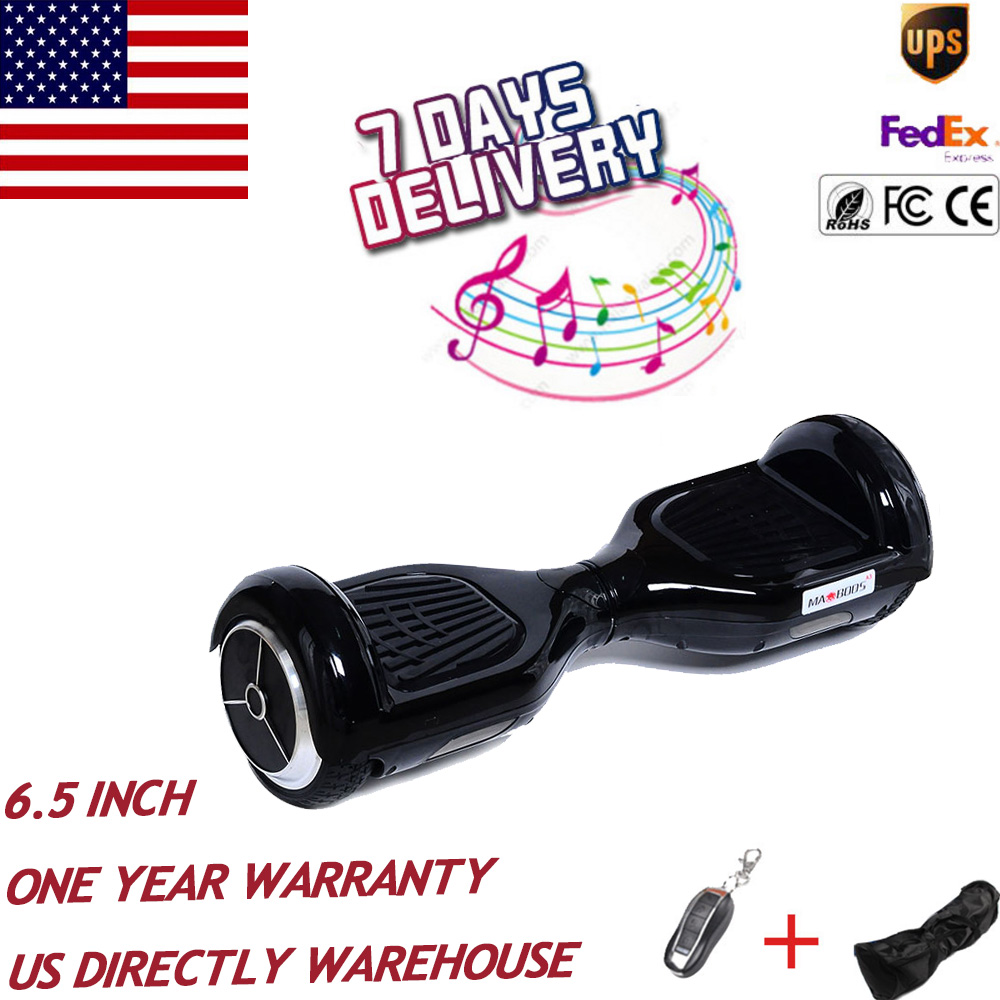 US Stock No tax 6.5 inch self balance electric Hoverboard drift scooter unicycle skywalker overboard oxboard stand Hover board
