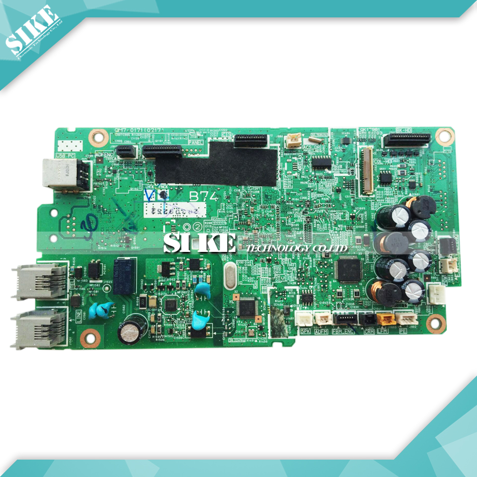 Logic Main Board For Canon MX378 MX 378 Formatter Board Mainboard QM7-0171 (0217) rsag 7 820 5277 main logic board for printer5 led55k20jd led58k280j t con connect board