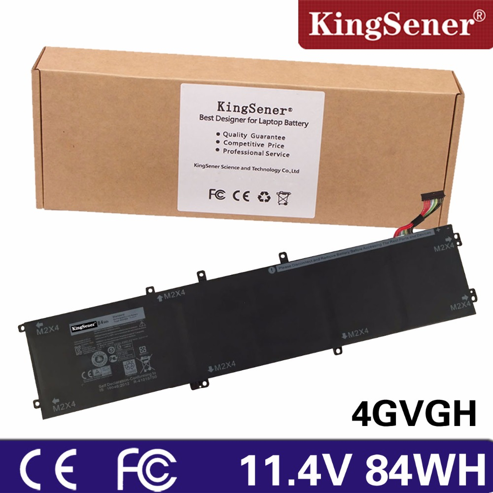 все цены на  KingSener New 4GVGH Laptop Battery for DELL Precision 5510 XPS 15 9550 series  11.4V 84WH  онлайн