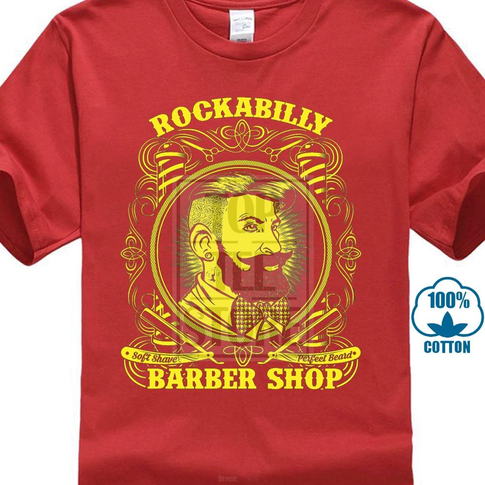 Sosiri noi2017 Rockabilly Barber Shop Hair Shave Razor Foarfece de - Imbracaminte barbati - Fotografie 6